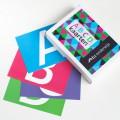 ABCD kaarten met doos